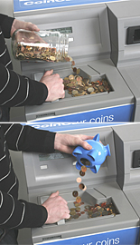 CoinCasher Banking coins