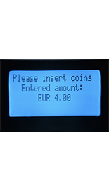 Display coin unit